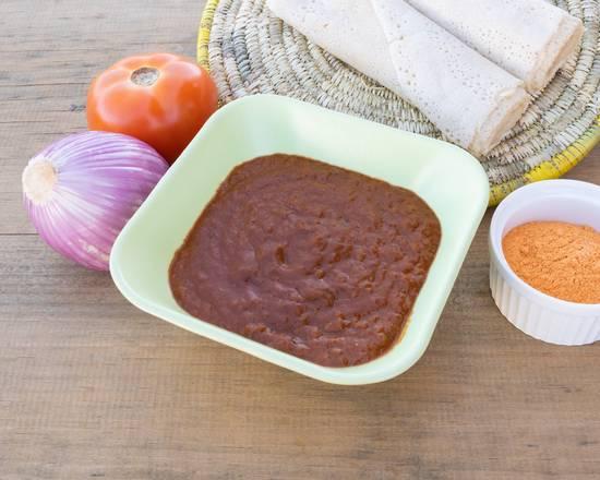 Ground Chickpea Stew | Garbanzo (shiro wat)
